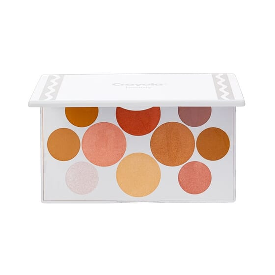 Crayola Eyeshadow Palette Nudes 18g de Crayola Beauty