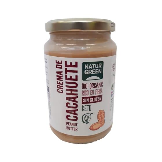Creme de Amendoim Sem Glúten Bio 330g da NaturGreen