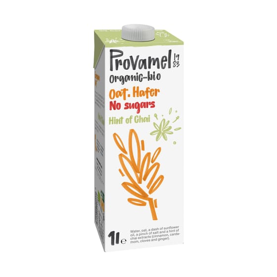 Provamel Organic Bio Bebida de Aveia Chai 1000 ml da Santiveri