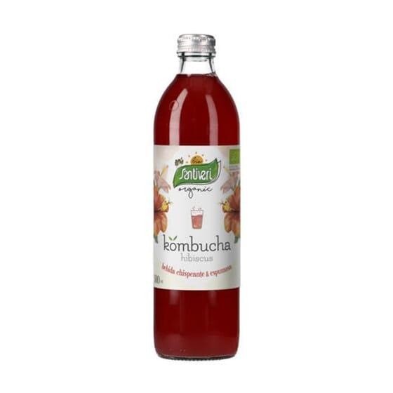 Kombucha Hibiscus Bio 500 ml da Santiveri