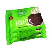 Tortitas Espelta Chocolate Negro Bio 102g de Santiveri