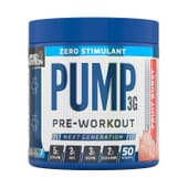 Pump 3G Zero Stimulant Pre-Workout 375g de Applied Nutrition