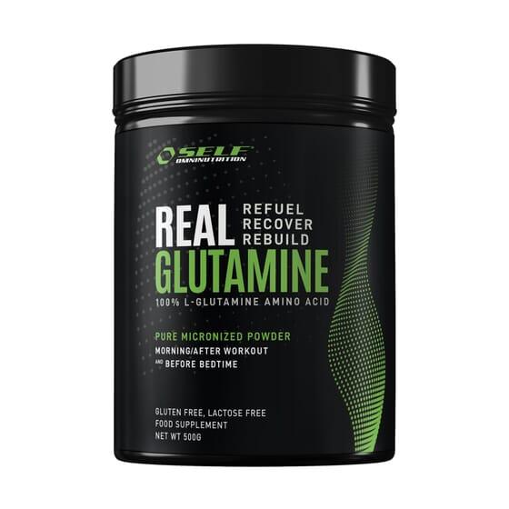 Real Glutamine 500g da Self Omninutrition