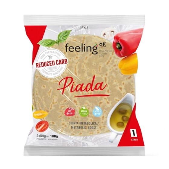 Piada 1 Start 100g da FeelingOK