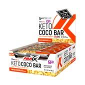 Keto Coco Bar 40g 20 Barrette di Amix Nutrition