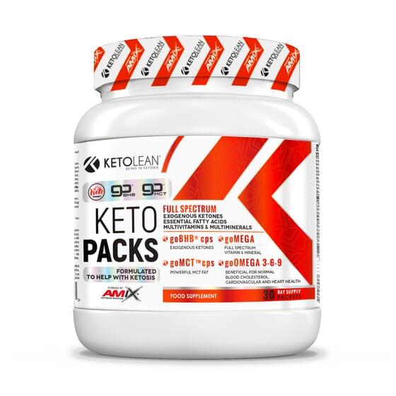 Keto Packs 30 Unds da Amix Nutrition