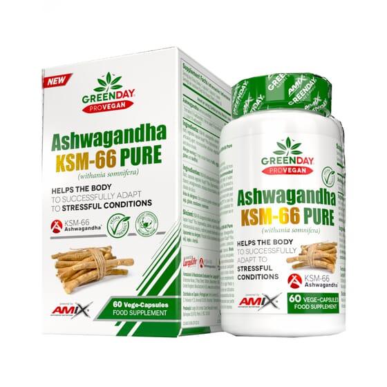 Ashwangandha KSM-66 Pure 60 VCaps da Amix Greenday
