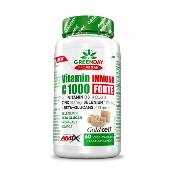 Vitamin Immuno C 1000 mg Forte 60 VCaps da Amix Greenday