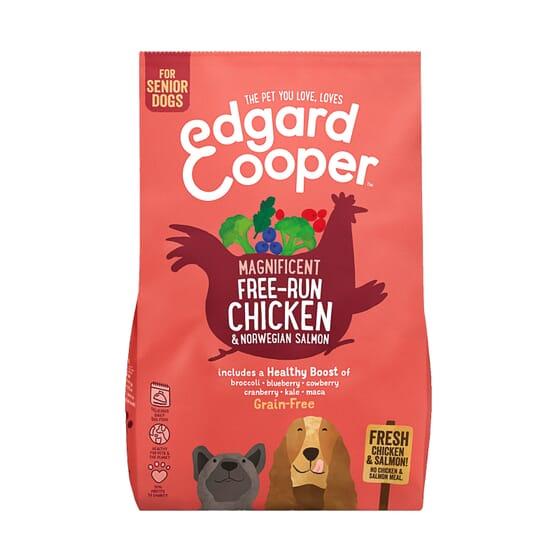 Ração Cão Frango do Curral e Salmão da Noruega 7 Kg da Edgard Cooper