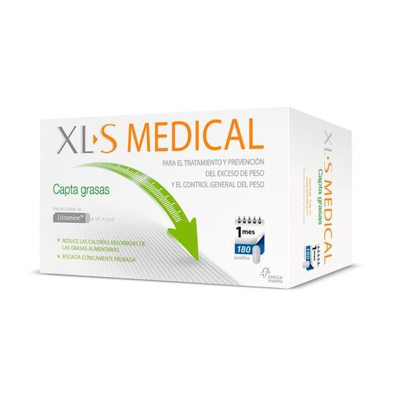 XL-S MEDICAL CAPTAGRASAS 180 Tabs - XL-S MEDICAL