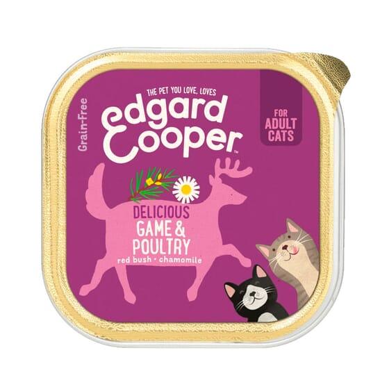 Comida Húmida para Gato Aves de Curral e Veado 85g da Edgard Cooper