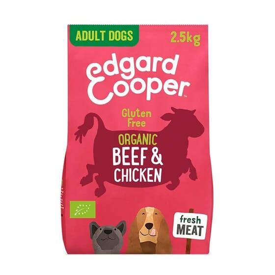 Ração Cão Vaca e Frango do Curral Bio 2.5 Kg da Edgard Cooper