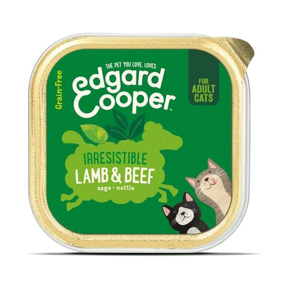Comida Húmida Gato Vaca e Pato 85g da Edgard Cooper