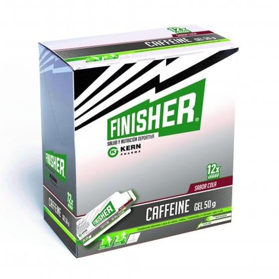 Caffeine Gel 50g 12 Géis da Finisher