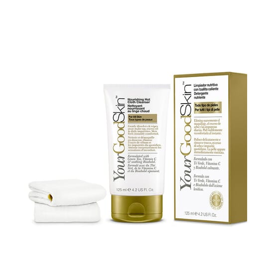 Limpador Nutritivo com Toalhita Quente 125 ml da Your Good Skin