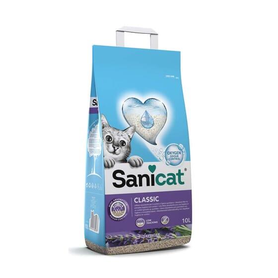 Classic Lavender Areia Para Gato 10 L da Sanicat