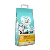 Areia Aglomerante para Gato Fragrance Free 10 L da Sanicat