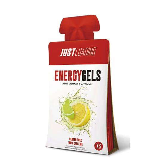 Energy Gels 3 x 30g de Just Loading