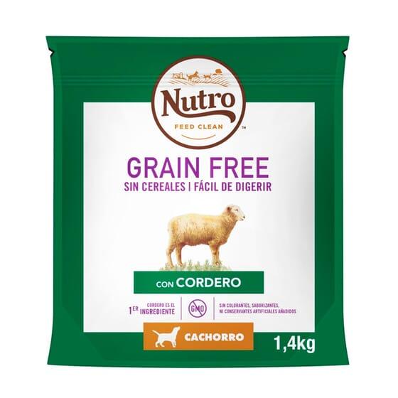 Grain Free Perri Adulto Raças Médias Borrego Promoção 1.4 Kg da Nutro