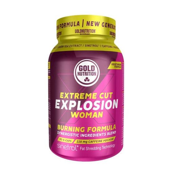 Extreme Cut Explosion Woman 90 VCaps de Gold Nutrition