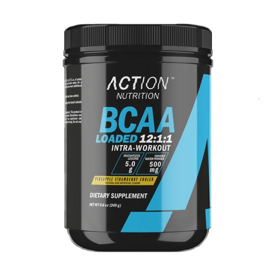 Bcaa Loaded 12:1:1 Intra-Workout 249g da Action Nutrition