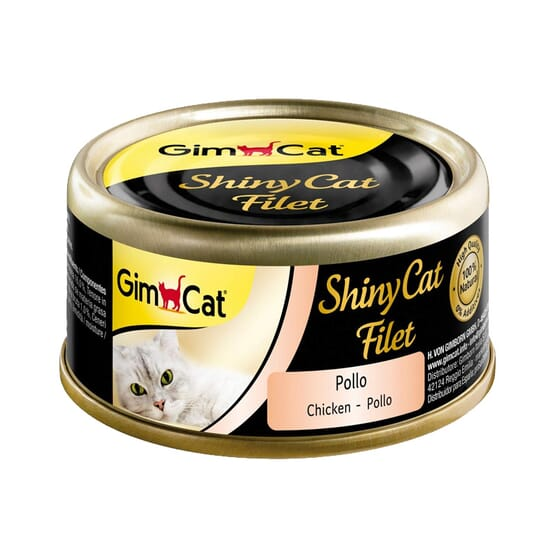 Shinycat Filet Frango 70g da GimCat