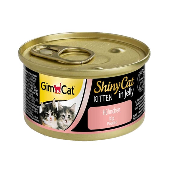 Shinycat Kitten In Jelly Frango 70g da GimCat