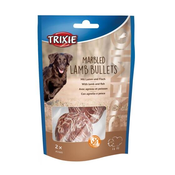 Premio Marbled Lamb Bullets 25g 2 Unds da Trixie