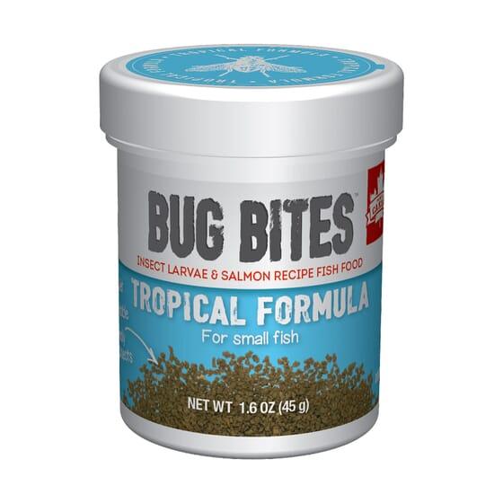 Grânulos Fórmula Tropical Micro 45g da Fluval Bug Bites