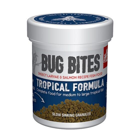 Grânulos Fórmula Tropical 45g da Fluval Bug Bites