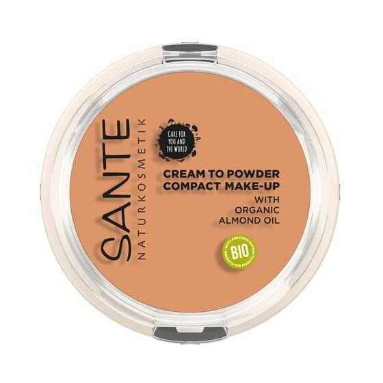 Maquilhagem Compacta Pó-Creme 03 Cool Bege Bio 9g da Sante