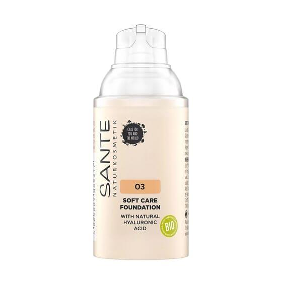 Maquillaje Soft Cream 03 Warm Meadow Bio 30 ml de Sante
