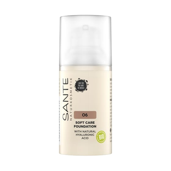 Maquilhagem Soft Cream 06 Neutral Amber Bio 30 ml da Sante