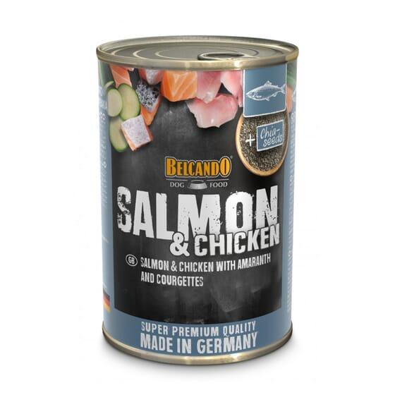 Belcando Comida Húmida Para Cão Salmão e Frango 400g da Belcando