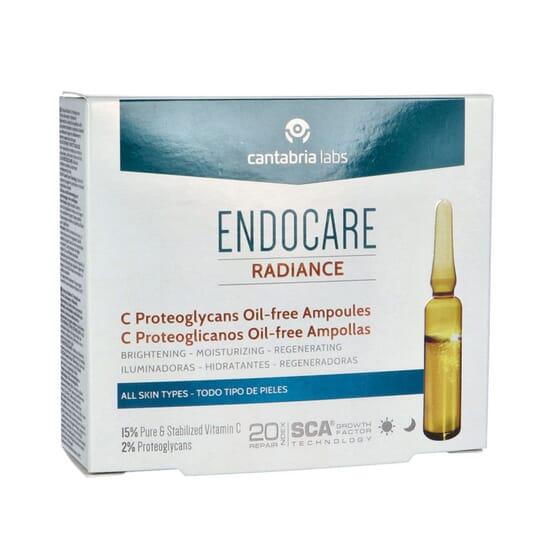 Endocare Radiance C Proteglycans Oil-Free 10 Ampolas da Endocare