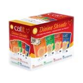 Divine Shreds Sopa Para Gatos De Frango Multipack 75g 12 Unds da Catit