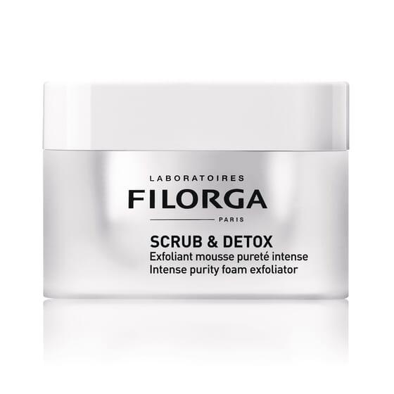 Scrub Detox Máscara Esfoliante Desintoxicante 50 ml da Filorga