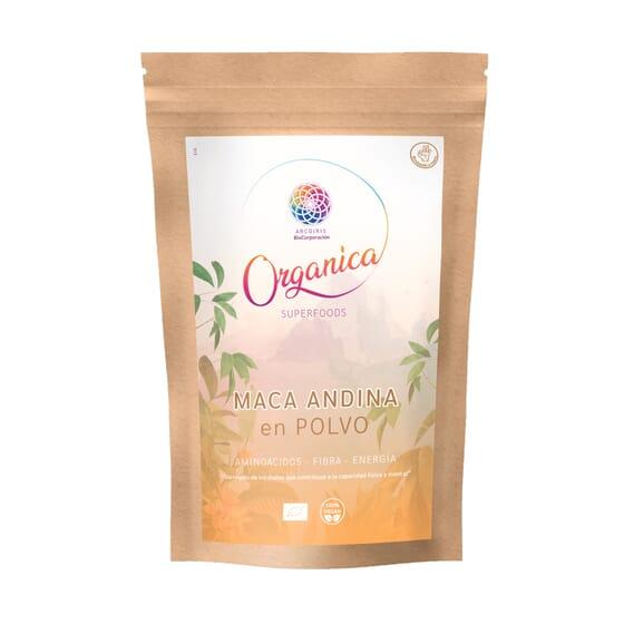 Maca Andina em Pó Orgânica 250g da Organica Superfood