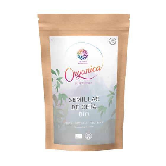 Sementes De Chia Orgânica 250g da Organica Superfood