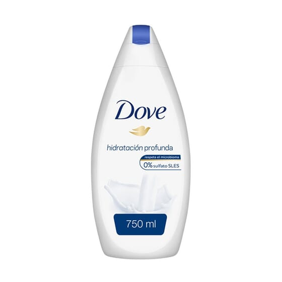 Gel de Duche Hidratação Formato XL 750 ml da Dove