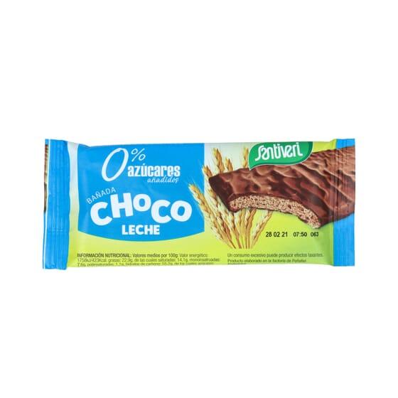 Barras Cereais Chocolate Com Leite 17g 6 Unds da Santiveri