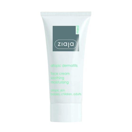 Creme Facial Calmante Pele Atópica 50 ml da Ziaja Med