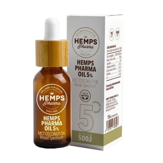 Hemps Pharma Oil 5% 10 ml da Hemps Pharma