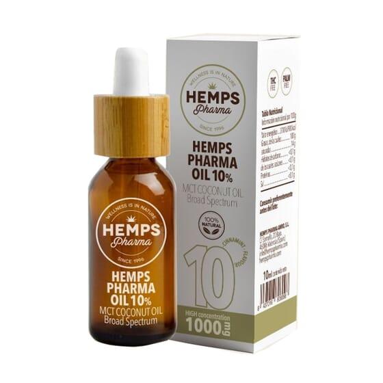 Hemps Pharma Oil 10% 10 ml da Hemps Pharma