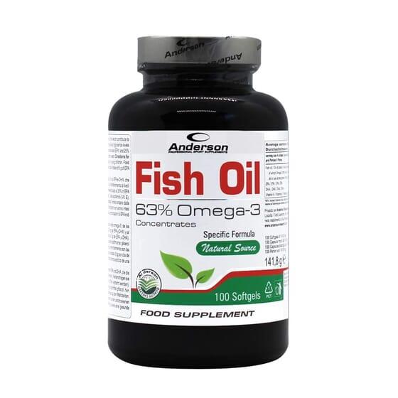 Fish Oil 100 Pérolas da Anderson Research