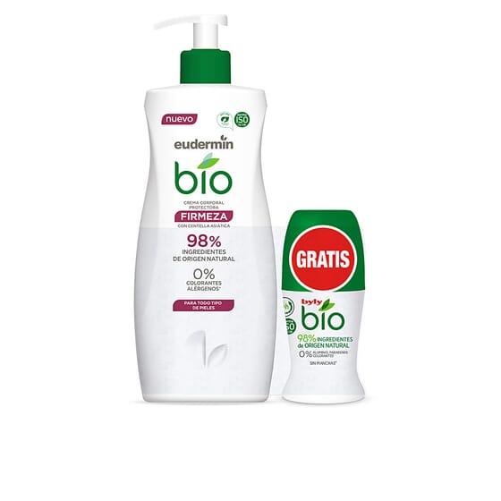 Bio Natural Creme Corporal Firmeza + Desodorizante Roll-On da Eudermin