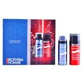 Homme Total Recharge Lote Creme Hidratante + Espuma De Barbear da Biotherm