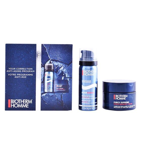 Homme Force Supreme Lote Creme + Espuma De Barbear da Biotherm