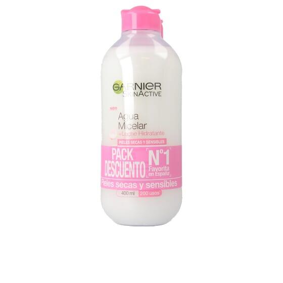 Skinactive Água Micelar + Leite Hidratante Duplo   400 ml da Garnier