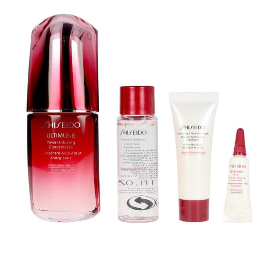 Ultimune Lote Sérum + Espuma Limpeza + Loção + Sérum De Olhos da Shiseido